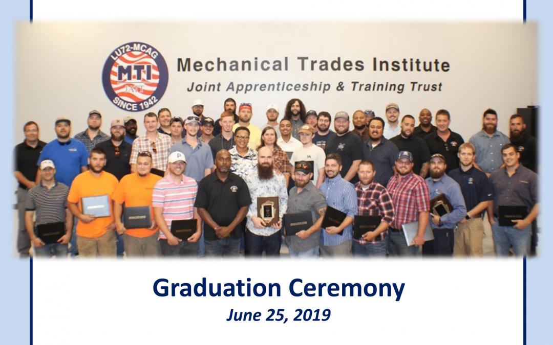 Local Union 72/MCA of Georgia Apprenticeship Program Graduates 60