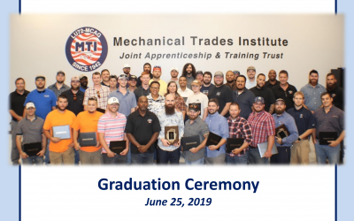 Local Union 72/MCA of Georgia Apprenticeship Program Graduates 60